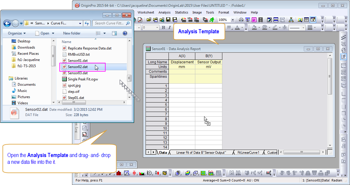 Handling Repetitive Tasks – Report Analysis Template