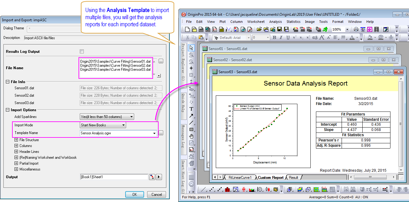 Handling Repetitive Tasks – Data Analysis Template