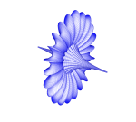 3D Parametric Function Plot: Breather